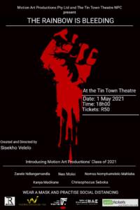 The Raibnow Is Bleeding Final Poster